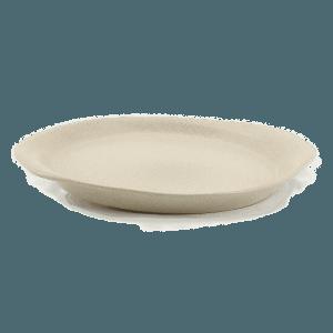 Prato Oval com pegas retangulares Vianagrés